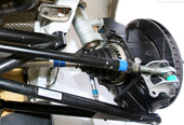 Peugeot 207 S2000 rear suspension