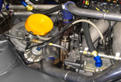 Subaru WRC turbocharger