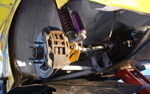 Mitsubishi Colt Evo WRC rear suspension